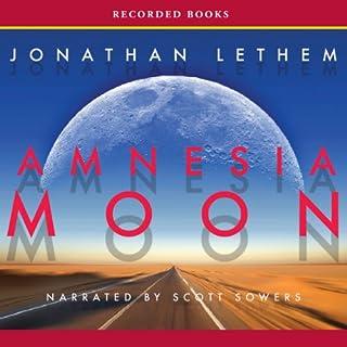 Amnesia Moon audiobook cover art