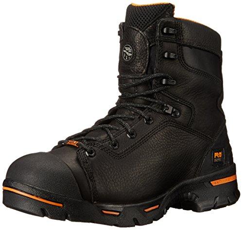 Timberland PRO Chaussure Isolante Imperméable à l'eau Endure Pr de Sécurité en Acier DE 8 Po pour Hommes, 39 EU, Black
