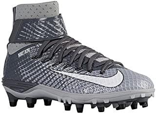 Nike Men's Force Lunarbeast Elite TD Mens Football Cleats Cleated Shoes Wolf Gray/White, Size 10.5 M (US)