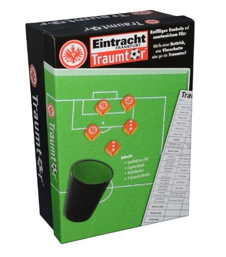 Teepe Sportverlag 18570 - Eintracht Frankfurt Würfelset, Traumtor