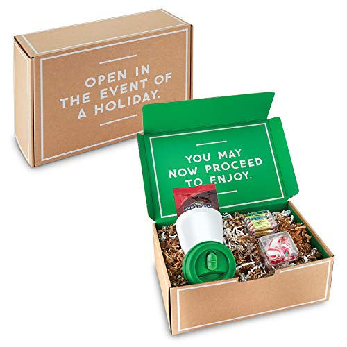 Gordon Sinclair I#039m Not a Paper Cup Gift Set  The Holiday Gift Set Includes a 10 oz Biodegradable Plastic Tumbler  with Chocolate amp Peppermint Candy  Valentines Day Gift Set