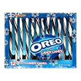 Spangler Oreo Flavored 12 Candy Canes - Cookies and Cream (Single Pack)