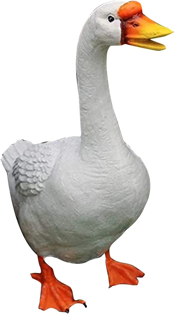 Resin Large-scale sale Duck Goose Safety and trust Ornaments Quanwang Simulation St Lovely Animal
