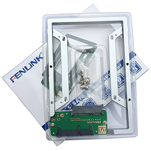 "Fenlink 2.5"" to 3.5"" Internal SSD Hard Drive SATA Drive Converter (Silver)"
