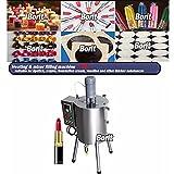 YELLAYBY Máquina de llenado de mezclador de cinturón de calefacción/máquina de llenado de barra de labios/vaselina/pigmentos Máquina de llenado de crayón
