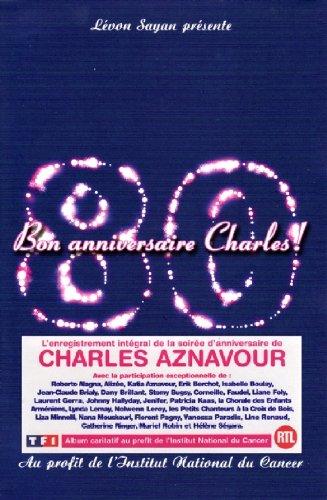 Charles Aznavour : Bon anniversaire Charles