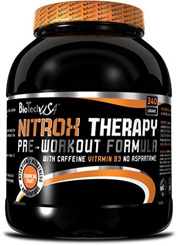BioTech USA Nitrox Therapy, Peach, 1er Pack, (1x340g)