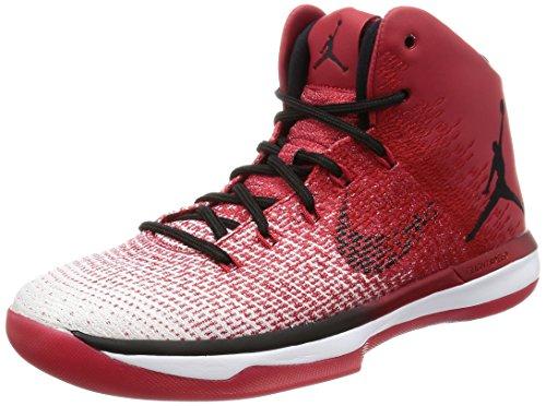Nike Mens Air Jordan XXXI Varsity Red/Black-White Canvas Size 11