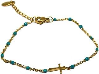 Braccialetto fine - Bracciale sottile - Bracciale oro - Bracciale acciaio - Bracciale rosario
