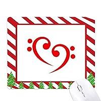 バス・シンボル ゴムクリスマスキャンディマウスパッド