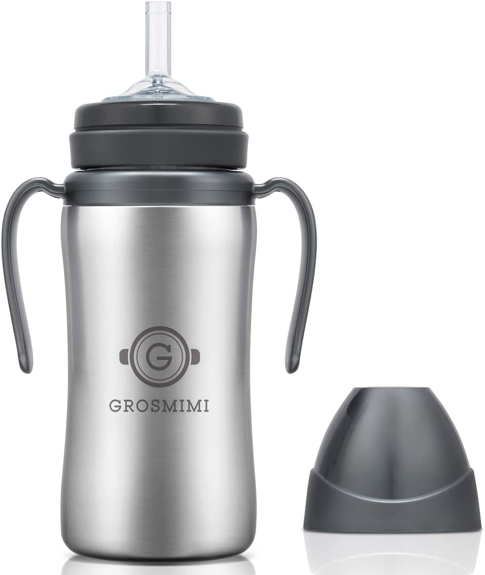 New 40% OFF Cheap Sale York Mall Grosmimi Vacuum Insulated Sippy Cup Handle B Straw with for