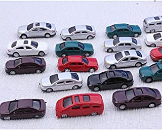 Mini Model Painted Car 1:100 Scale Parking Scenery Street Layout (Pack of 50)