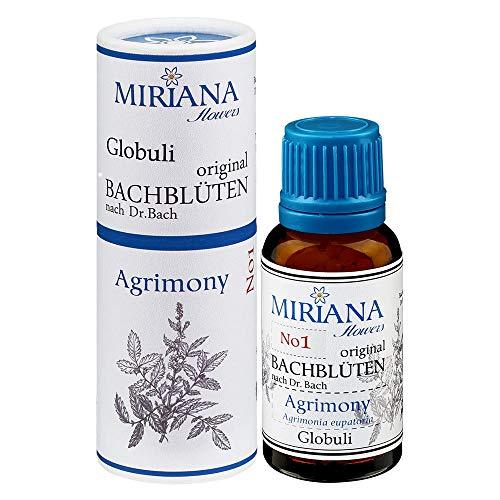MirianaFlowers Agrimony 20g Bachblüten Globuli