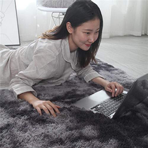Europese lange haren mode slaapkamer tapijt erker bed mat wasbare persoonlijkheid deken kleurverloop woonkamer tapijt, 1,80x200cm