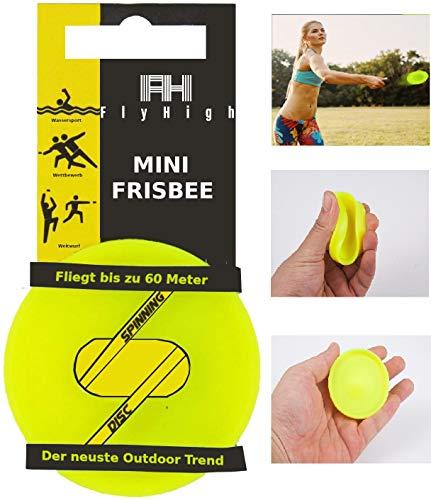 Flyhigh Mini Frisbee Wurfscheibe - Outdoor Wurf Spiel - Die Neuste Trendsportart