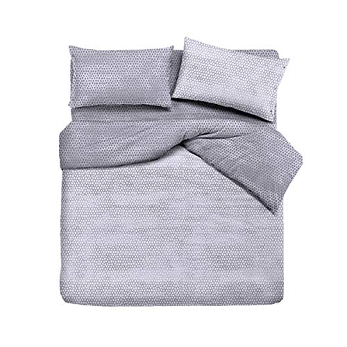 R.P. Zomerdekbed - half seizoen sprei Coconut modern chic grijs - 100% Made in Italy - bed Frans type Ikea