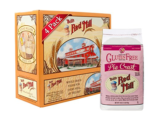 Bob's Red Mill Gluten Free Pie Crust Mix, 16 Ounce (Pack of 4)