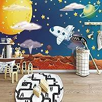 カスタム写真の壁紙3D宇宙星空の漫画の壁紙子供部屋の背景の壁の壁画Infantil, 250cm×175cm