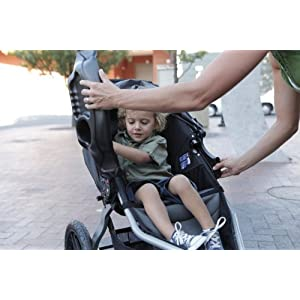 BOB Gear Snack Tray for Single Jogging Strollers, Black, One Size (SN1001)
