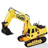 Hosim 1:20 Remote Control Truck RC Excavator Toy with...