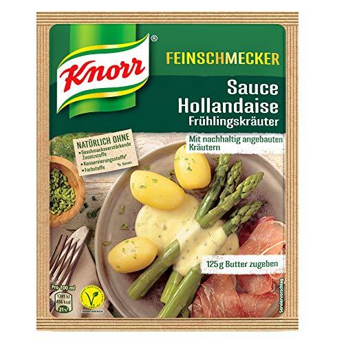 Knorr Feinschmecker Hollandaise Frühlingskräuter Soße (1 x 250 ml)