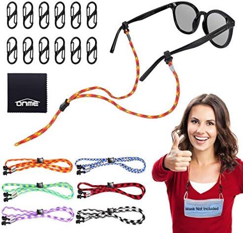 Eyewear retainer ONME Adjustable Glasses Holder with Mask Lanyards Buckle Face Lanyards Strap product image