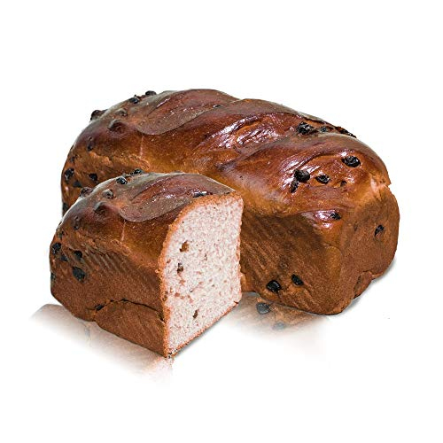 Vestakorn Rozijnenbrood 500 g - vers rozijnenbrood - 20% Arabische rozijnen, gebakken in 10 minuten