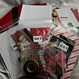 Creative Memories All That Glitter Christmas Card Kit Pre-Cut Ready to Assemble Cards