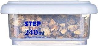 AWAING Bocaux Céréales Conteneurs en plastique transparent Joint superposable Cuisine Grain boîte de rangement Rangement e...