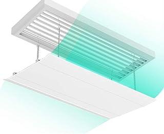 Deflector de aire acondicionado Aire Acondicionado Central Deflector de Viento para el Edificio de Oficinas, Montado en La Pared Ninguna Perforación Universal Deflector (Size : 30×120cm)