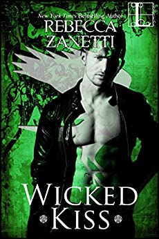 Wicked Kiss (Realm Enforcers Book 4) by [Rebecca Zanetti]