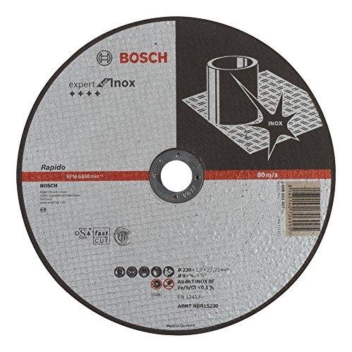 Bosch 2 608 603 407 - Disco de corte recto Expert for Inox (AS 46 T INOX BF, 230 mm), 1,9 mm)