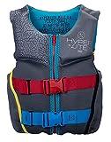 Hyperlite Indy Youth CGA Kids Wakeboard Vest Black/Teal Sz S (50-75Lbs)
