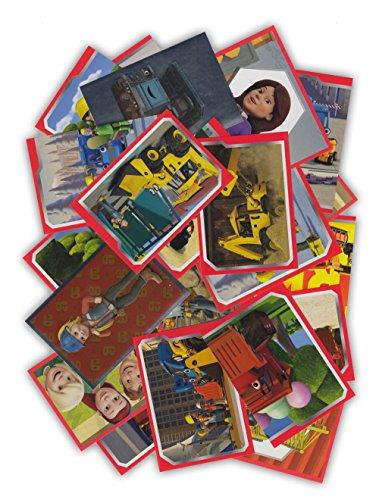 Panini - Bob der Baumeister - 50 Sammelsticker gemischt - keine doppelten Bilder - Deutsche Ausgabe