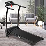 Home Folding Treadmill | Low Noise Fitness Motorized Step Machine | Indoor Home Gym Running Jogging Walking Exercise Fitness Cardio Training | Women & Man