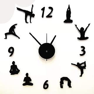 XTSP Wall Clock - Living Room Decoration Clock - Quartz Clock - Mute - Irregular Wall Clock (Size : 20in)