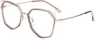 Firmoo Cat Eye Blue Light Blocking Glasses Women, Anti Eye Strain Anti Glare Pink Computer Glasses for Digital Screens with UV Protection