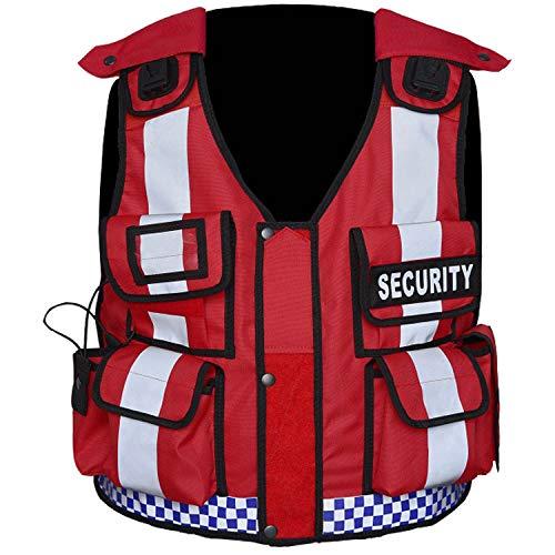 Nuevo chaleco táctico Hi Viz Manipulador de perro Seguridad, Paramédico, Cumplimiento, Tac Chaleco (portero)