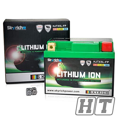 Bateria Litio Skyrich HJTX5L-FP, Negro y Verde