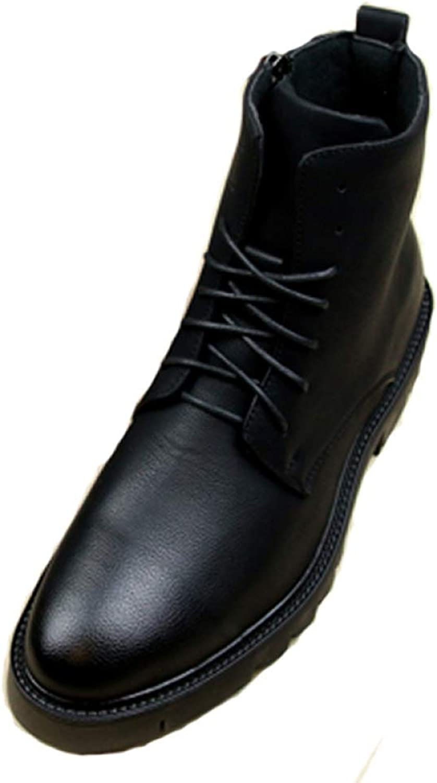 Stiefel Herren Mnner Winter Rutschfest Wrmste Schnee Stiefel Echt Leder Handgefertigt Winter Schuhe Gre  38-43