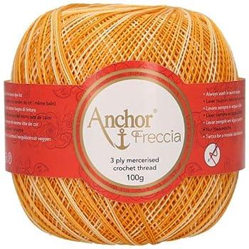 100/% cotone filato per uncinetto multicolore Anchor Freccia 4787012 spessore 12 9449.