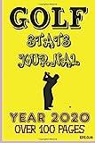 GOLF STATS JOURNAL YEAR 2020