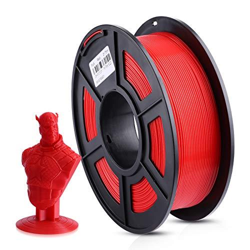 ANYCUBIC 3D Printer 1KG 1.75mm Filament PLA, 3D Printing PLA Filament for 3D Printers & 3D Pens (Red)