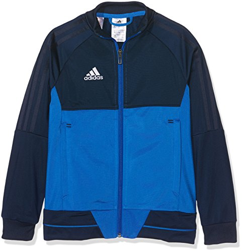 adidas Kinder Tiro 17 Jacke, Collegiate Navy/Blue/White, 152