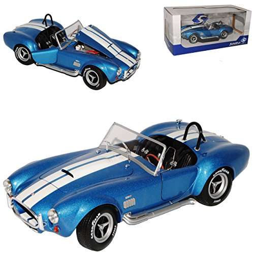 Solido Ford Shelby AC Cobra 427 MKII S/C Blau 1962-1968 1/18 Modell Auto