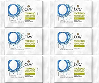 Olay Makeup Remover Wet Cloths, 7 Count (Pack of 6)