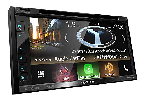"Price comparison product image Kenwood DNX-575S 6.8"" Multimedia Receiver with Navigation (Renewed)"