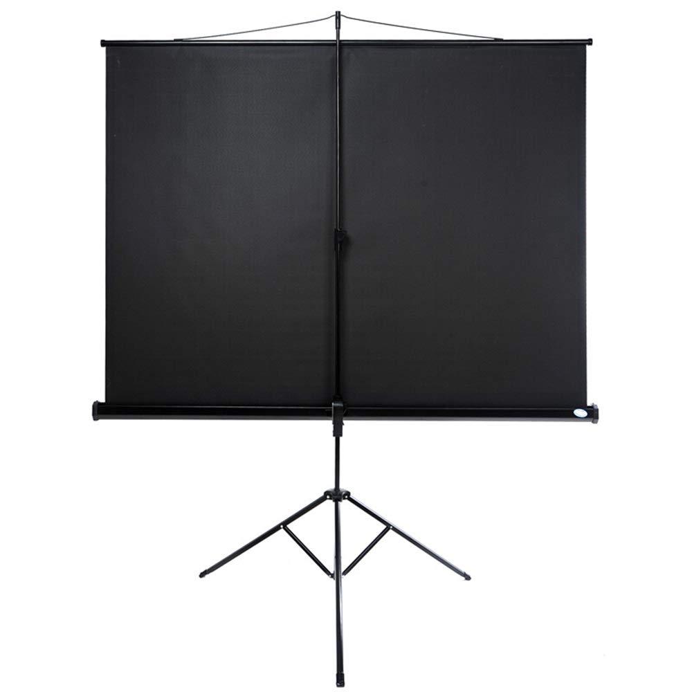 Vobajf Pantallas de proyección Pantalla proyector con el Soporte for película o de Oficina Presentación - 4: 3 HD Premium trípode Pantalla Proyector de Pantalla de Alta definición: Amazon.es: Hogar