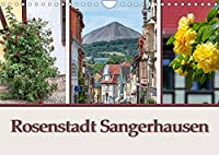 Rosenstadt Sangerhausen (Wandkalender 2022 DIN A4 quer): Sangerhausen ist die Kreistadt in Mansfeld Suedharz und liegt im Suedwesten von Sachsen Anhalt. (Monatskalender, 14 Seiten )