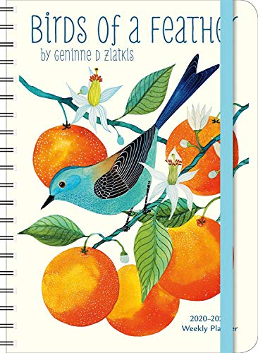 Geninne Zlatkis 2020 - 2021 On-the-Go Weekly Planner: 17-Month Calendar with Pocket (Aug 2020 - Dec 2021, 5' x 7' closed): Birds of a Feather